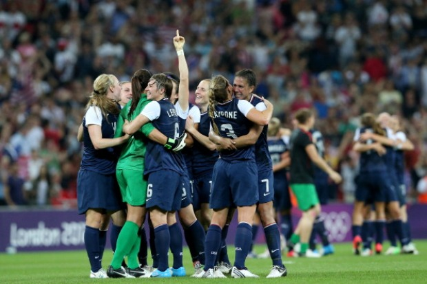 In Pictures: U.S. Women's Soccer Wins Gold