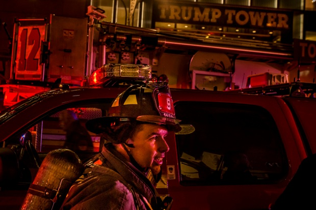 [NATL-NY]In Photos: Major Fire Breaks Out at Trump Tower