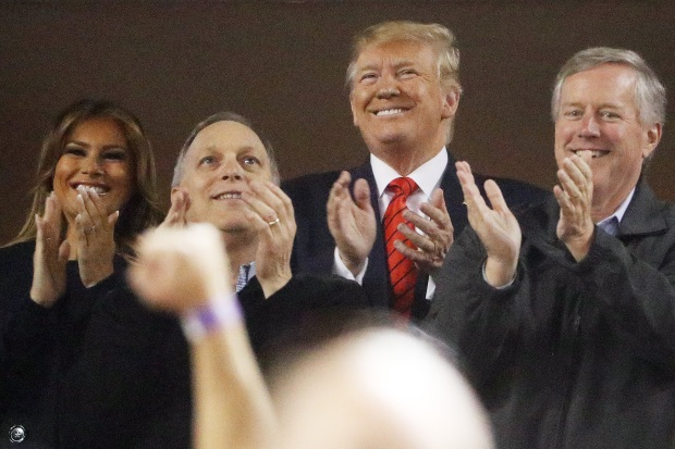[NY] Trump Greeted With Boos During Game 5 of World Series in DC