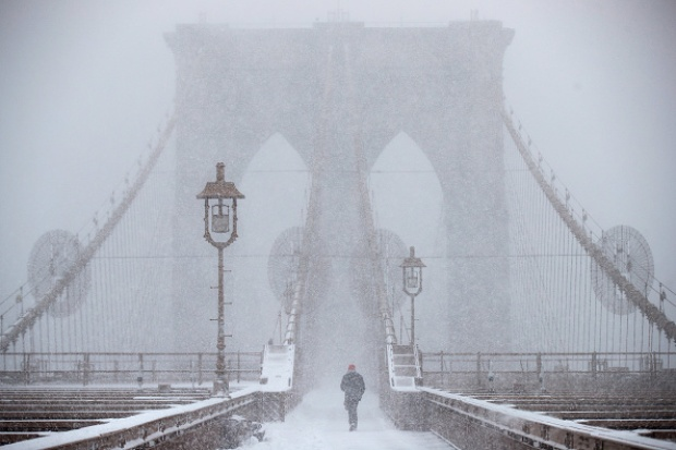 Snowstorm Paints Tri-State a Wintry White