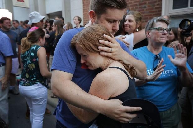 [NATL] Shock, Sadness and Anger After Violent Charlottesville Weekend