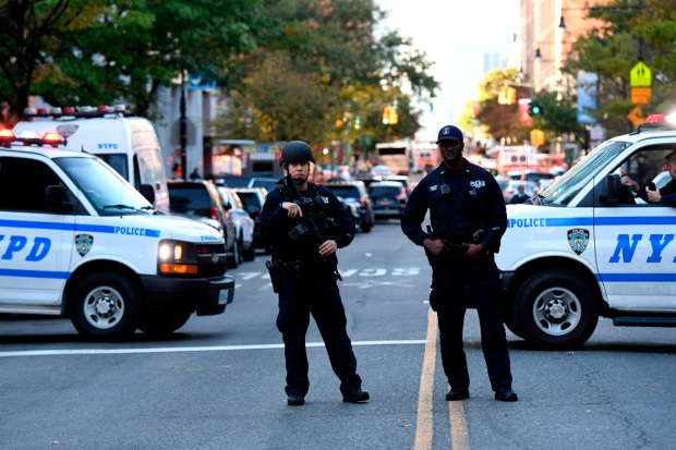 Photos: Officials Respond to Manhattan Truck Rampage