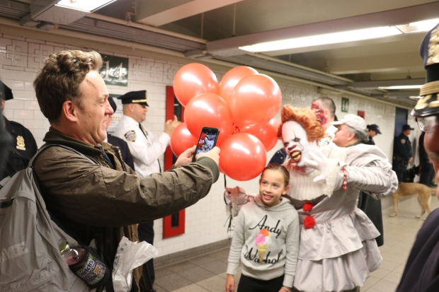 MTA Transforms Union Square Subway Into Spooky Haunted House