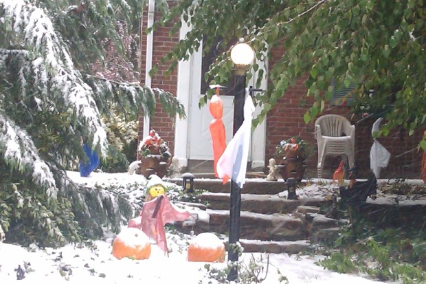 PHOTOS: 'Snowtober' Around the Area