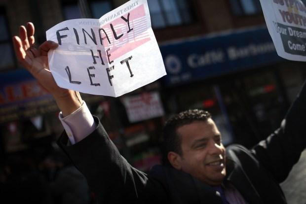 In Photos: Egyptians in NY, NJ Celebrate Mubarak's Resignation