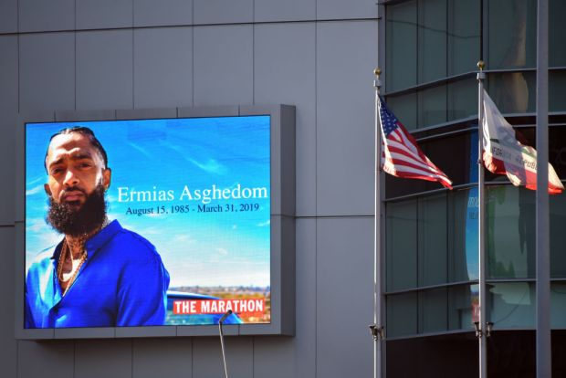 [NATL-LA]In Photos: Nipsey Hussle's Celebration of Life at Staples Center