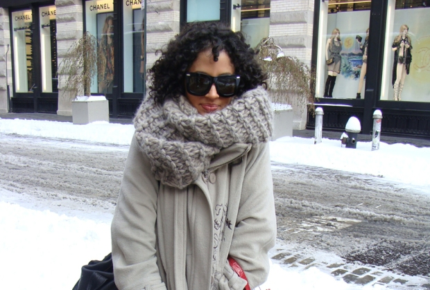 [THREAD] Street Style: New York's Snow Day
