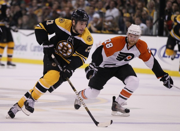 PHOTOS: Flyers Pull Off Historic Win Over Bruins