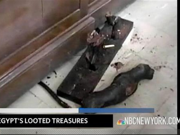 [NY] Egypt's Looted Treasures