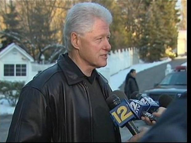 [NY] Bill Clinton Speaks After Heart Procedure