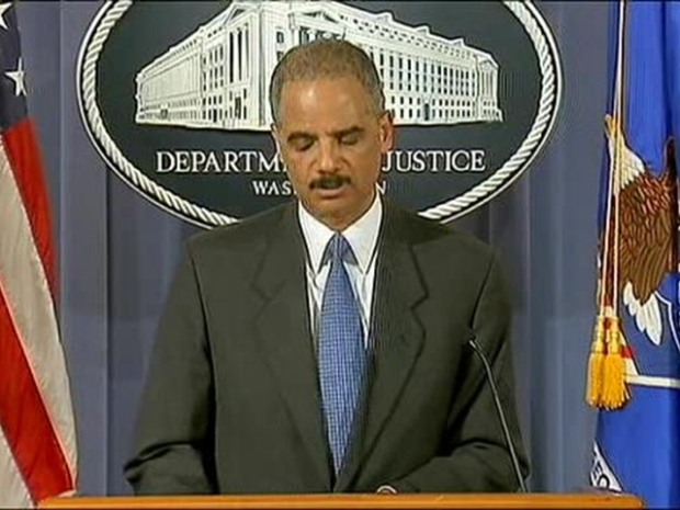 [NY] Attorney General Eric Holder on Car Bomb Arrest