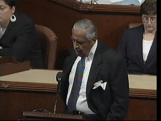 [NY] Rangel Defends Himself on the House Floor