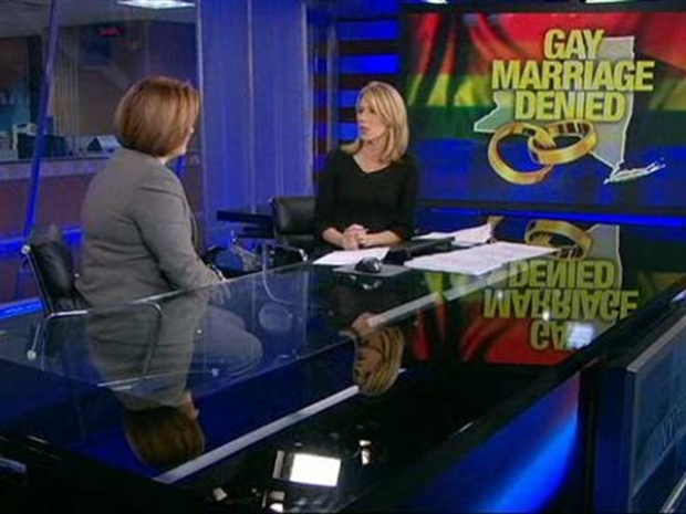 [NY] Christine Quinn  Talks About Failure of Gay Marriage Bill