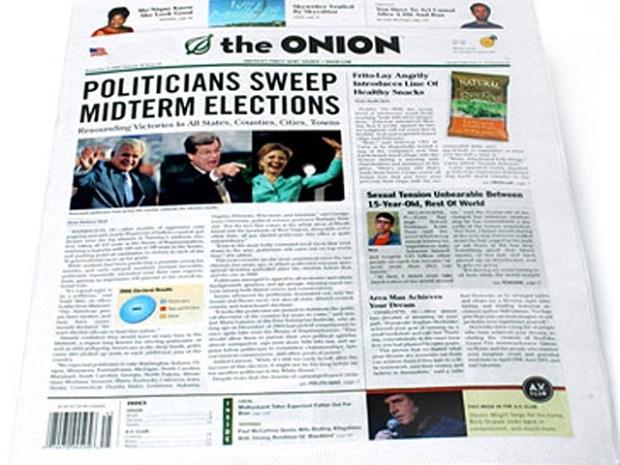 "[FREEL] ""The Onion"" Editor Jokes at National Lampoon Reunion"
