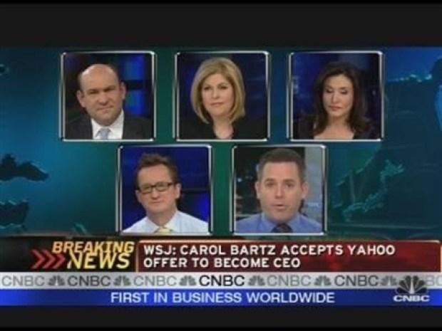 [CNBCS] Carol Bartz to Become Yahoo CEO
