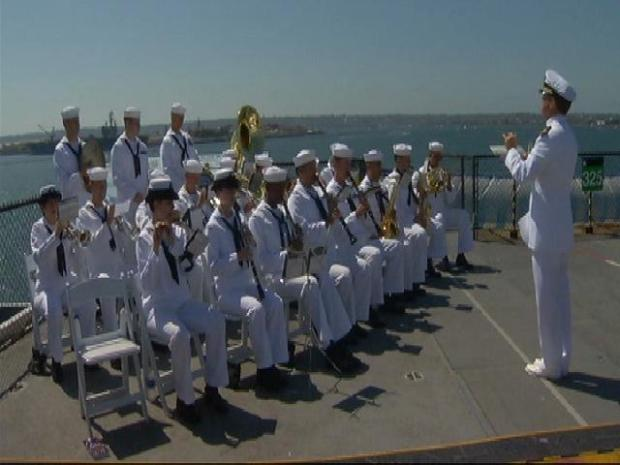 USS Midway Honors 9/11 Heroes