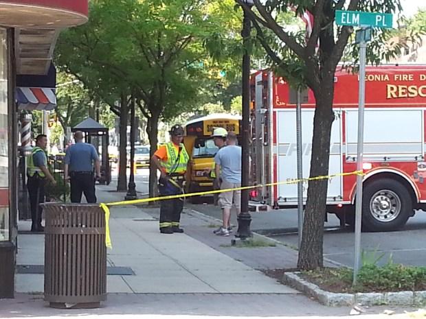 PHOTOS: Pedestrian Fatally Struck in Bergen County