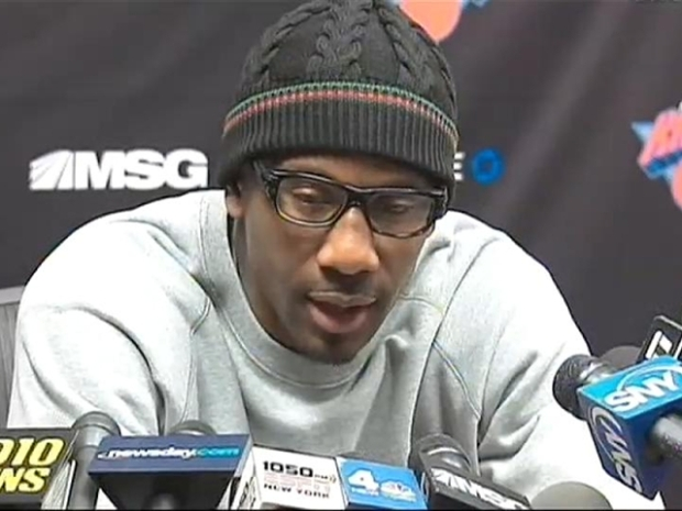 "[NY] Amar'e : ""The Knicks Are Back!"""