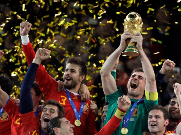[NATL-MIA] Dramatic Photos: Spain Wins 2010 World Cup