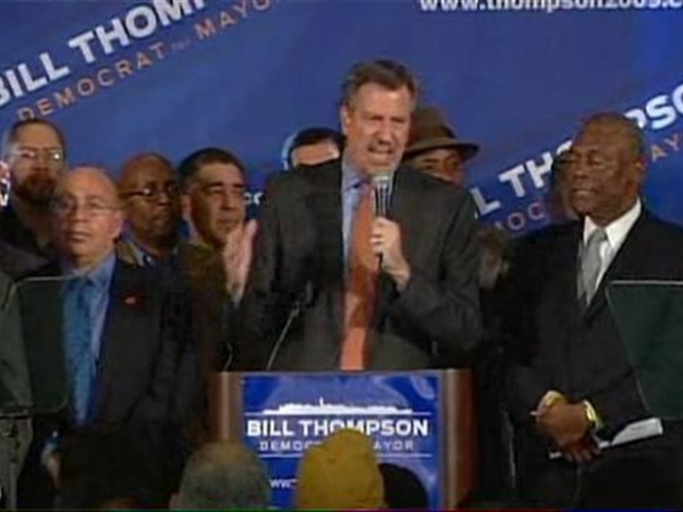 [NY] Bill de Blasio Wastes No Time Getting on the Job