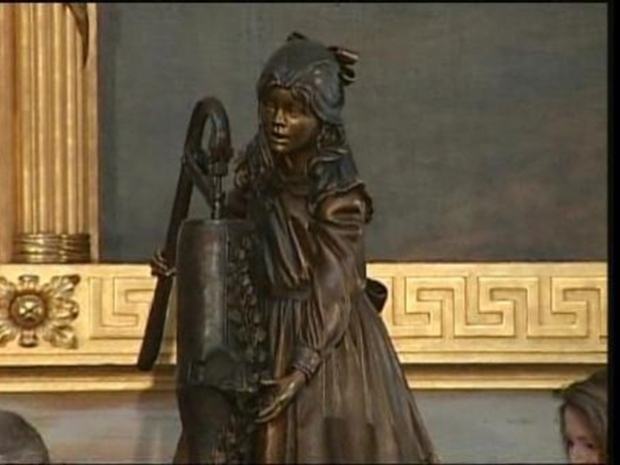 [DC] Helen Keller Statue Unveiled at Capitol