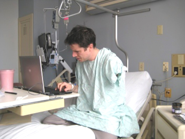 West Hartford Man Amputates Arm, Saves Life