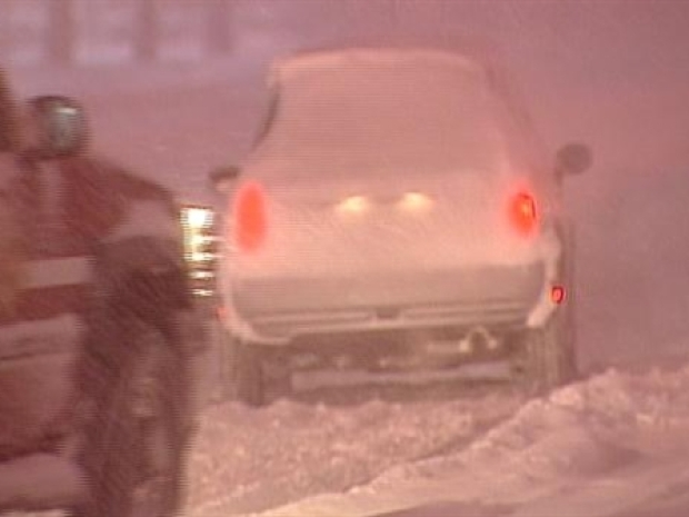 [NY] Heavy Snow Made for Rough Commute
