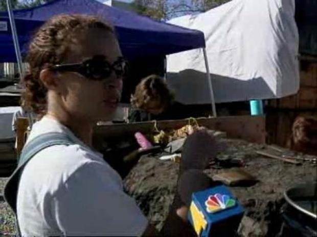 [LA] Scientists Celebrate Fossil Find Near Tar Pits