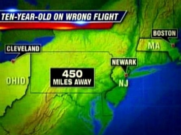 [NEWSC] Continental Puts 10-Year-Old on Wrong Flight