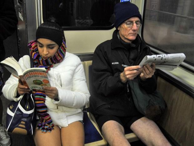 Chicago's Pantsless CTA Ride