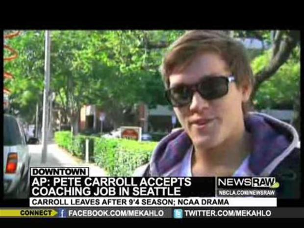 [LA] Pete Carroll Leaving: USC Student React