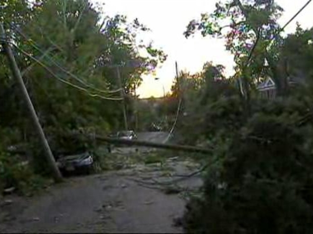 [NY] NYC Tornado Confirmed, Cleanup Underway