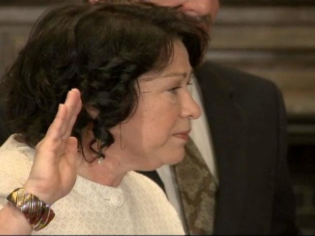 [DC] Sonia Sotomayor Takes the Oath