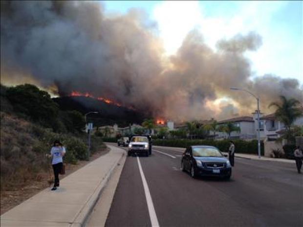 [G] Cocos Fire Threatens San Marcos, CSUSM and Escondido