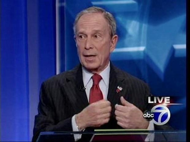 [NY] Bloomberg, Thompson Spar Over Election Spending