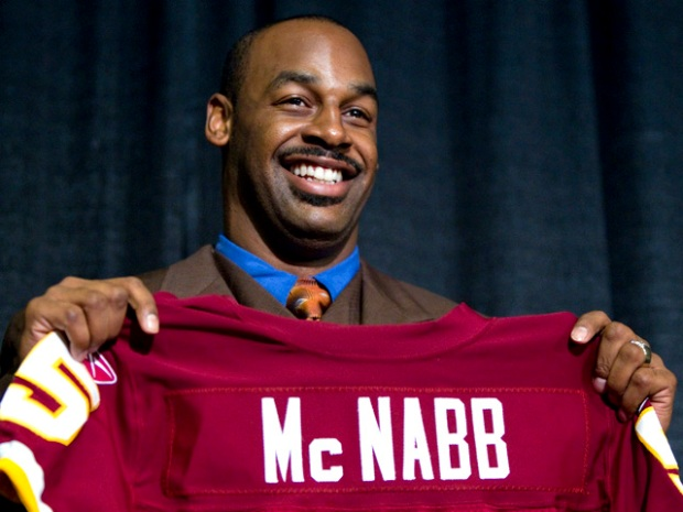 [DC] McNabb Wants to Meet Obama