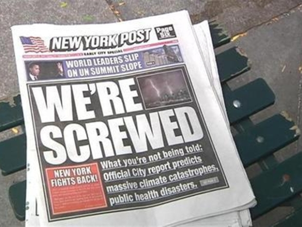 [NY] Fake NY Post Hits the Streets