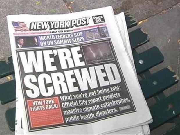 [NY] Fake NY Post Hits the Streets