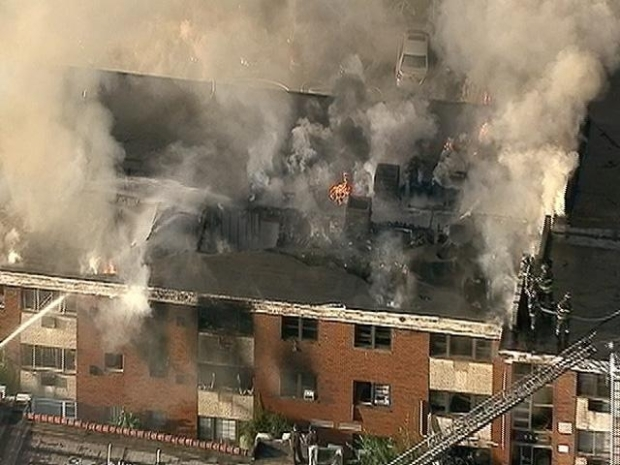 [NY] Fire Spreads Through Jersey Building