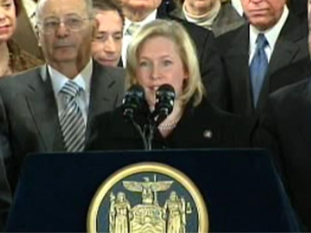 [NY] Gillibrand Introduced As New Senator