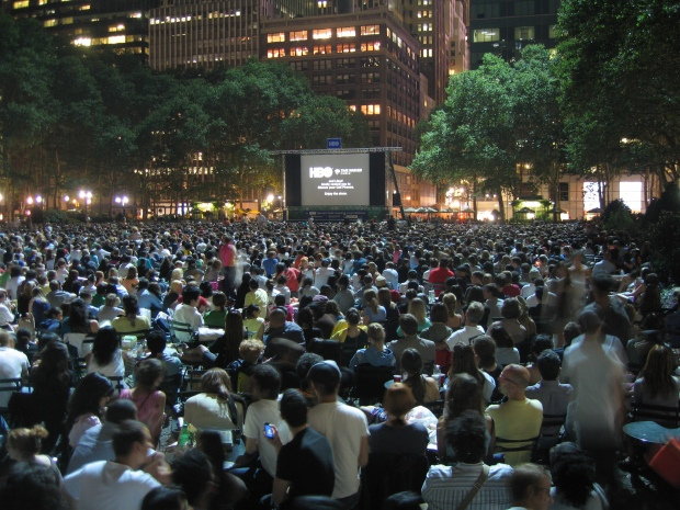 Bryant Park Spring and Summer Events 2010