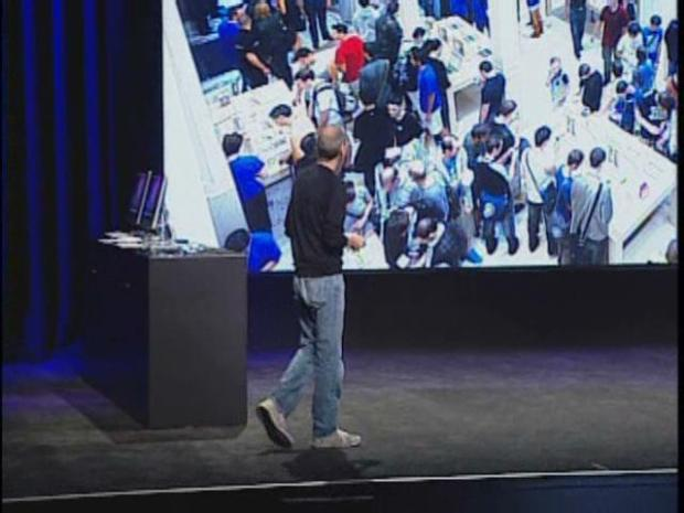 [BAY] Raw Video: Steve Jobs Makes Apple Announcement