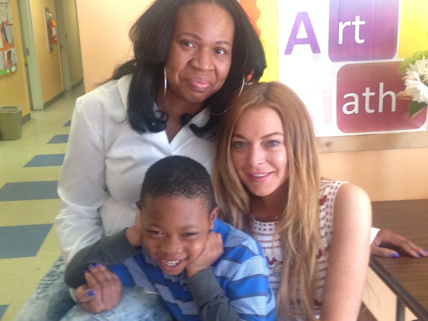 PHOTOS: Lindsay Lohan's Day Care Community Service