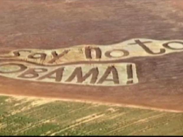 [DFW] Obama Crop Circle