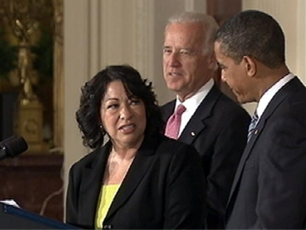 """[NY] Sotomayor: """"Impossible"""" Not to Be Nervous"""