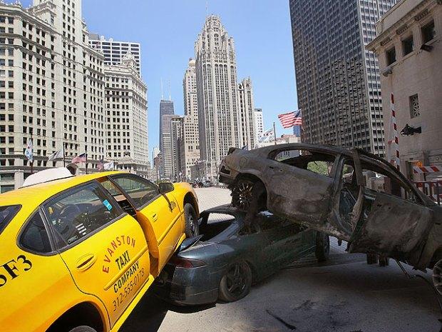 "PHOTOS: ""Transformers"" Rocks Downtown"