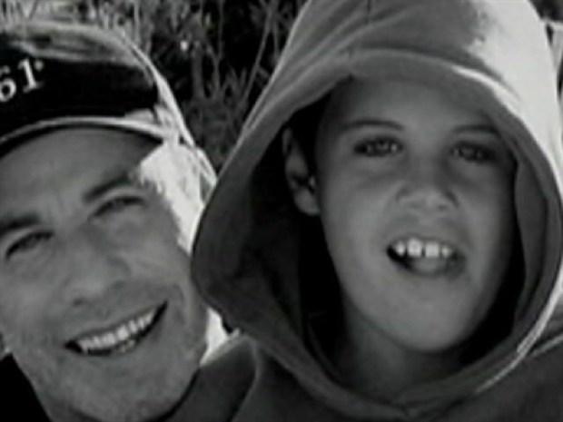 [NY] John Travolta Broken Up Over Son's Death