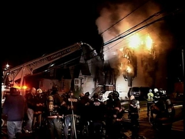 [NY] Yonkers Home Erupts in Flames
