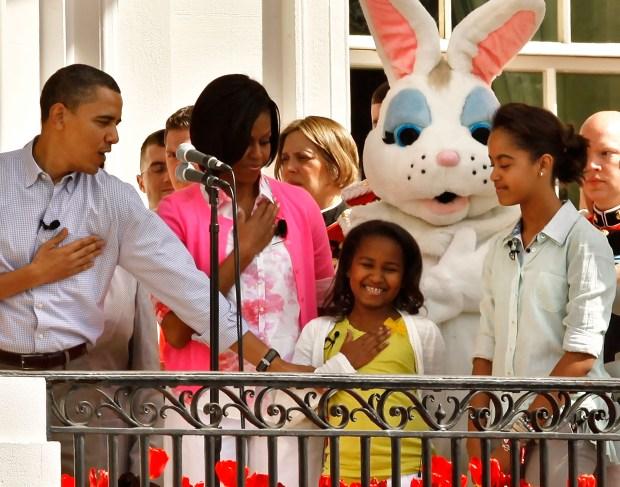 Obama Leads Egg Rolls at White House