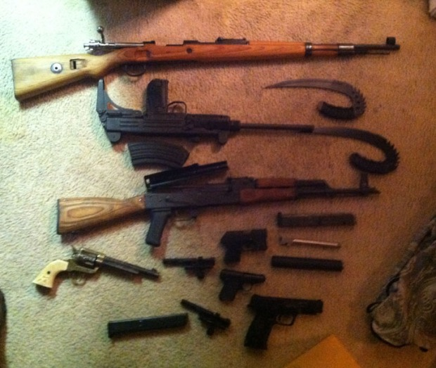Guns Seized After Anne Arundel Trespassing Incident